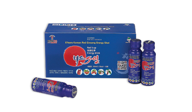 Red 5-Up ( 6 years Korean Red Ginseng Energy Shot)